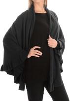 Portolano Cashmere Ruffled Shawl (For Women)