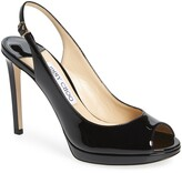 Jimmy Choo Nova Patent Slingback Sandal