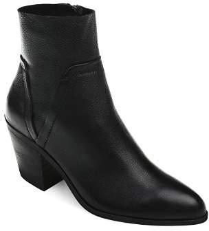 Splendid Women's Cherie Leather Block Heel Booties