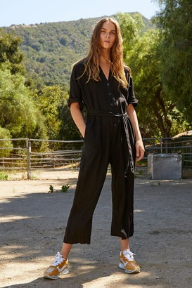 Velvet by Graham & Spencer Tamra Woven Linen Jumpsuit