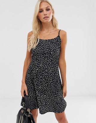 Vero Moda square neck floral cami dress-Multi