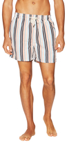 Solid & Striped Classic Striped Elasticized Swim Shorts