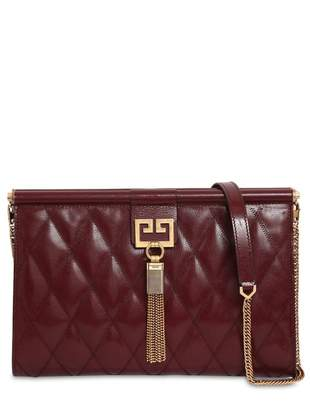 Givenchy Burgundy Leather Clutch bags