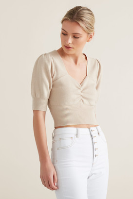 Seed Heritage Sweetheart Knit Top
