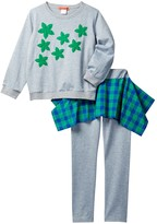 Funkyberry Long Sleeve Shirt & Legging 2-Piece Set (Little Girls & Big Girls)