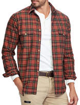 Polo Ralph Lauren Big and Tall Classic Fit Plaid Oxford Workshirt