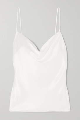 Galvan Whiteley Satin Camisole - Ivory