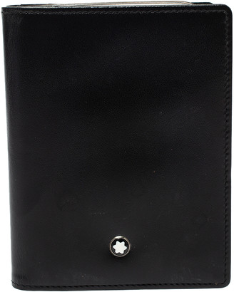 Montblanc Black Leather Business Card Holder