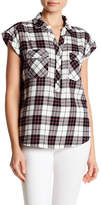 Soft Joie Johnesa Short Sleeve Plaid Shirt