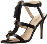 Nine West Women's Lelunah Leather Heeled Sandal