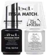 "IBD Advanced Wear - ""It's A Match"" Duo - Top Coat - 14ml / 0.5oz Each"