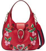 Gucci Dionysus embroidered medium leather hobo