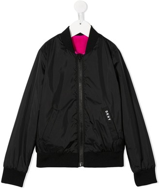 DKNY Zipped Logo Jacket