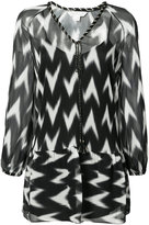 Rachel Zoe printed dress - women - Silk - XS