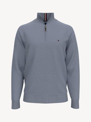 Tommy Hilfiger Essential Quarter Zip Sweater
