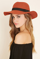 Forever 21 Ribbon Trim Floppy Hat