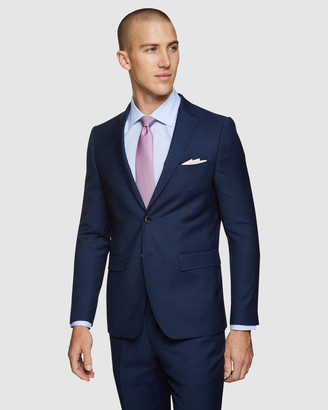 Oxford Men's Suits - Auden Wool Suit Jacket - Size One Size, 100 at The Iconic