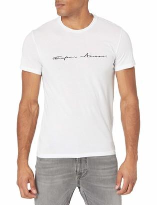 Emporio Armani Men's Basic&Iconic Sing.Pack Organ.Cotton Logo Signature