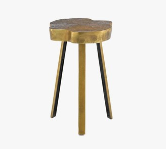 """Pottery Barn Monica 14"""" Metal Accent Table"""