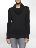 Calvin Klein Cotton Modal Cowl Neck Sweater