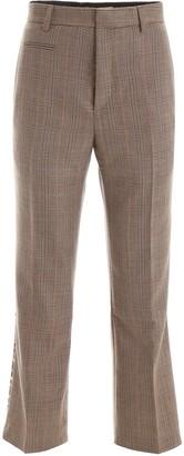 R 13 Tartan Wool Trousers