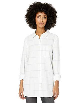 Goodthreads Washed Oxford Long-sleeve Button-front ShirtL