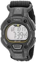 Timex Men's T5K693 Ironman Classic 30 Full-Size Black Fast Wrap Watch