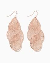 Charming charlie Dangling Doilies Earrings