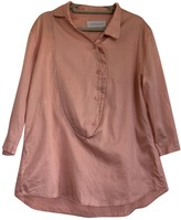 Cacharel Pink Cotton Top for Women