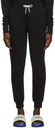 MAISON KITSUNÉ Black Tricolor Fox Lounge Pants