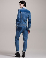 Maison Martin Margiela Relaxed-Fit Colorblock Jeans