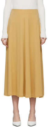 Totême Yellow Varadero Skirt