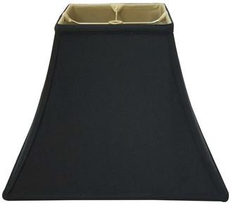 Royal Designs, Inc. Royal Designs Square Bell Basic Lamp Shade, Black, 10x10x9