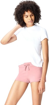Active Wear Activewear Shorts Womens Pink (Old Rose) 14 (Manufacturer size: Large)