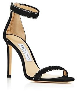 Jimmy Choo Women's Dochas 100 Embellished High-Heel Sandals