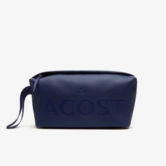 Lacoste Men's L.12.12 Branded Zip Toiletry Bag