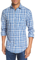 Gant Extra Trim Fit Broadcloth Plaid Sport Shirt