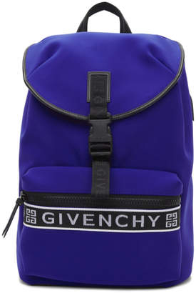 Givenchy Blue 4G Light 3 Backpack