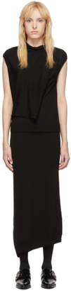 McQ Black Askance Dress