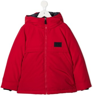 Il Gufo Padded Hooded Jacket
