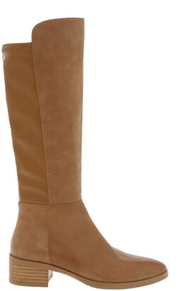 Zazou Terminus Tan Leather Knee High Boot