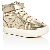 Old Soles Girls' Star Jumper Metallic High Top Sneakers - Walker