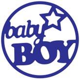 Baby Boy Cutting Dies Stencils Scrapbook Album Embossing Card DIY Craft Decorative 63*63mm by M-Egal