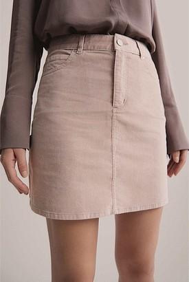 Witchery Cord Mini Skirt