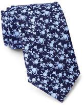 Tommy Hilfiger Silk Flower Print Tie