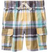 Gymboree Plaid Cargo Shorts