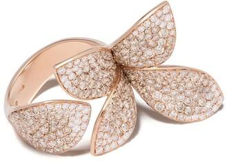 Pasquale Bruni 18kt rose gold Giardini Segreti diamond ring