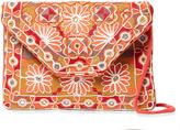Antik Batik Women's Khanna Embroidered Convertible Clutch
