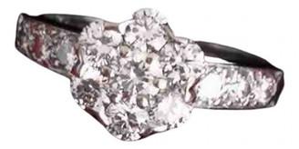 Van Cleef & Arpels Fleurs Silver White gold Rings