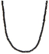 King Baby Studio Agate Bead Necklace 24 (Agate) - Jewelry